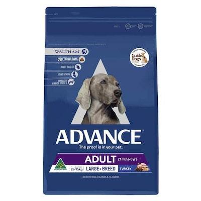 Advance Large Plus Adult Turkey Dry Dog Food 15Kg
