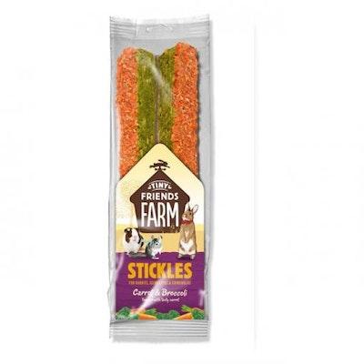TINY FRIENDS FARM TFF Stickles Carrot & Broccoli 100g