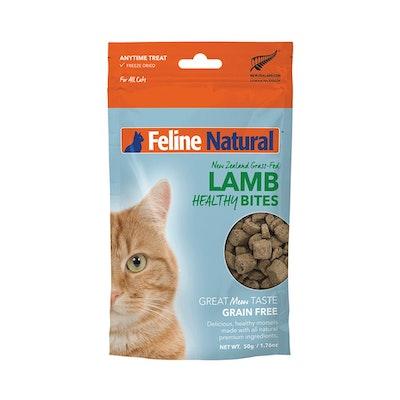 FELINE NATURAL Lamb Healthy Bites 50G