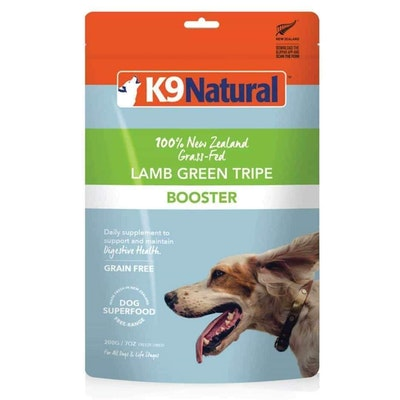K9 Natural Freeze Dried Dog Supplement Lamb Green Tripe Dry Dog Food 200G