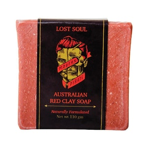 Modern Pirate Lost Soul Australian Red Clay Soap (110g)