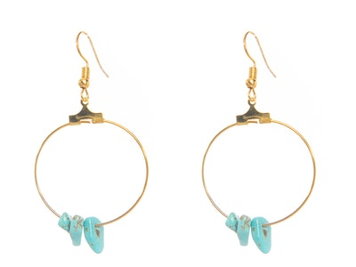 CocoKanela Zion Hoop Earrings