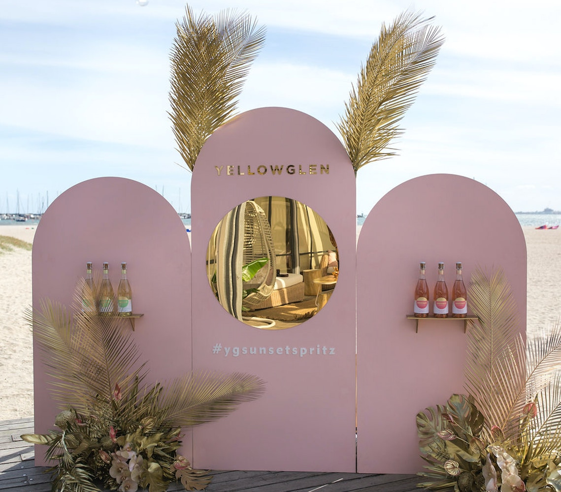 YELLOWGLEN SUNSET SPRITZ LAUNCH