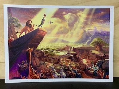The Lion King A3 Print