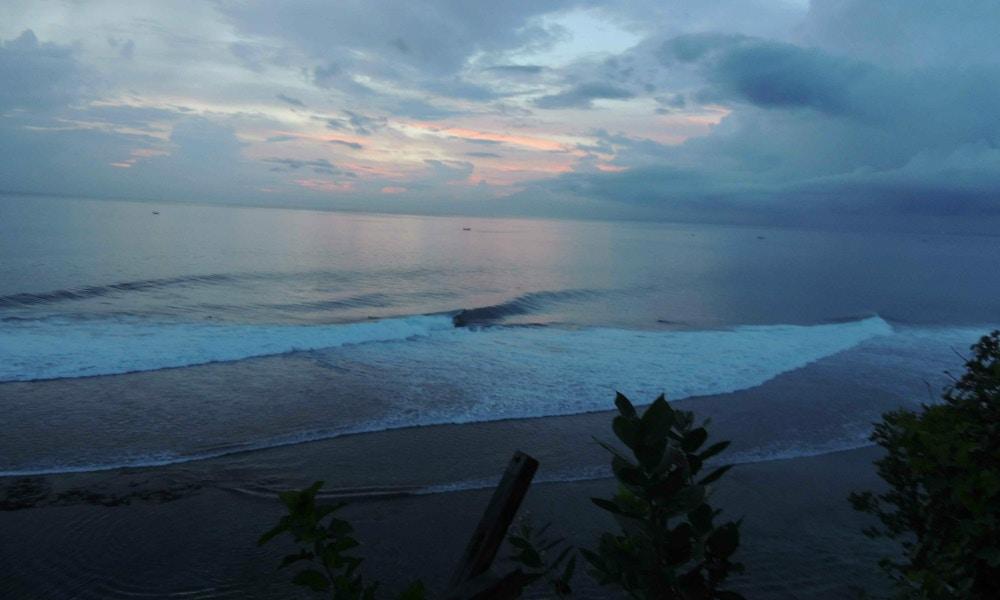 Surfing in Bali