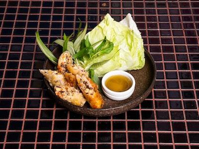 Vegan Hanoi Style Spring Rolls