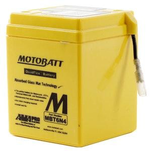 MBT6N4 MotoBatt Quadflex 6V Battery