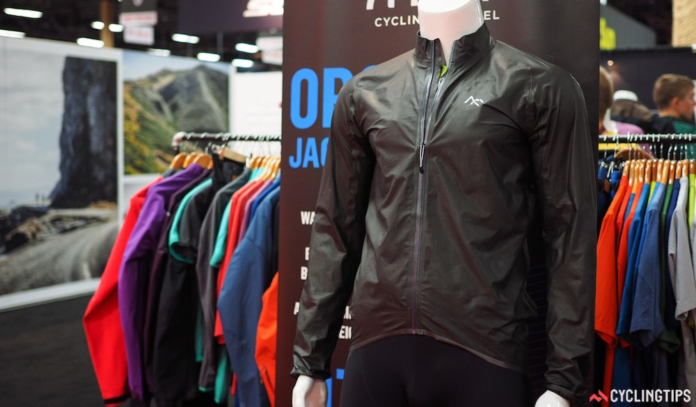 7Mesh ultralight jacket InterBike 2016 CyclingTips 43114