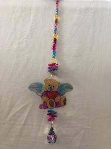 Handmade By Bronzerose Angel Bear Suncatcher 2021