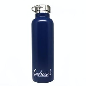 Envirocask Double Wall Vacuum Insulated Bottle (750ml) - Blue