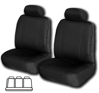 Challenger Universal Rear Seat Cover 06/08 | Black