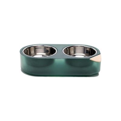 Pidan Pet Bowl-S-Double- Green