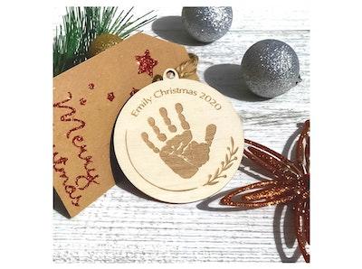 Personalised Christmas Decoration - Wood