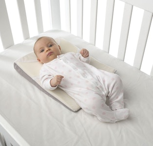 Baby Sleep Positioner with Adjustable Elevated Wedge