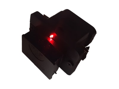 Trailer Vision 50 Amp Anderson Plug Flush Mount External Cover with LED
