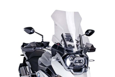 Puig Touring Screen To Suit BMW R1200GS/R1250GS (Clear)