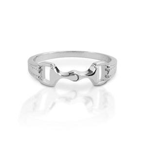 Kelly Herd 6mm Bit Ring