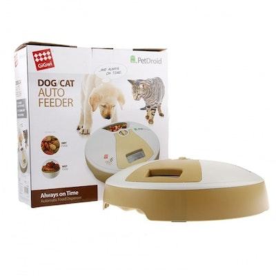 GIGWI Pet Droid Cat & Dog Automatic Food Dispenser