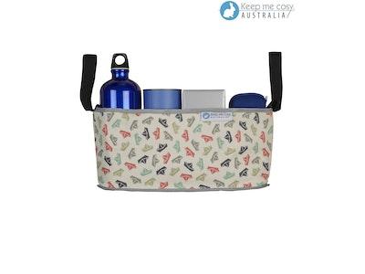 Keep Me Cosy™ Pram Organiser or Cup & Phone Holder - Paper Boat