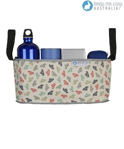 Keep Me Cosy™ Pram Organiser or Cup & Phone Holder - Paper Boat