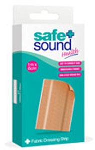 Safe + Sound Fabric Dressing Strip 1m x 6cm