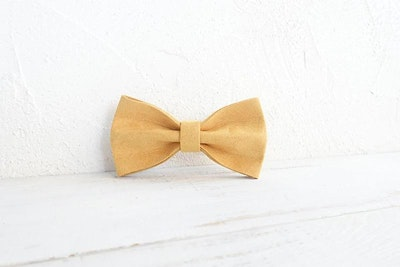 Barker & Bone Bow Tie | Yellow