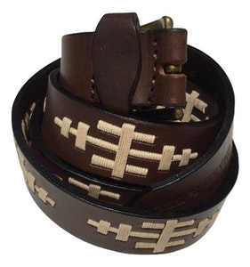 Gaucho Inspired Leather Belt