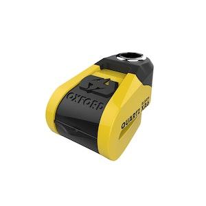 Oxford Quartz XA6 Alarm Disc Lock - Yellow