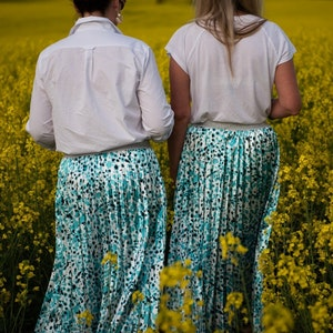 Afrique Pleated Skirt