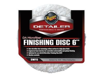 Meguiar's® DA Microfiber Finishing Disc - 6 Inch, DMF6, 2 Pack