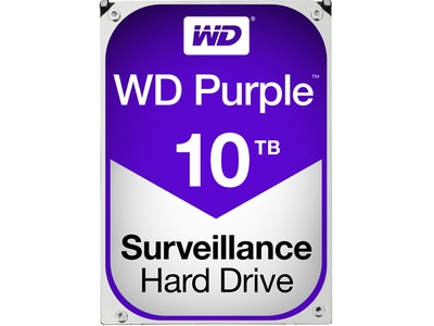 Western Digital (WD) 10TB Purple series hard drive (HDD)