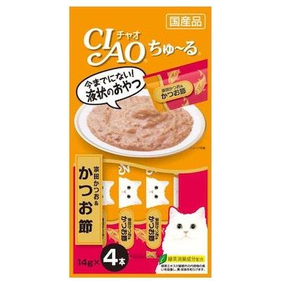 CIAO   Soda Bonito & Dried Bonito Recipe (4pcs/Pk)