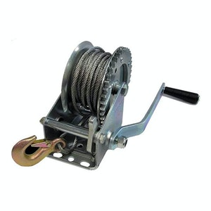 PK Tools Trailer Hand Winch 10m x 5mm Wire Max 545kgs