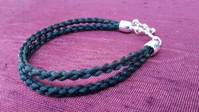 Rainbow Reins Double strand Horse Bracelet