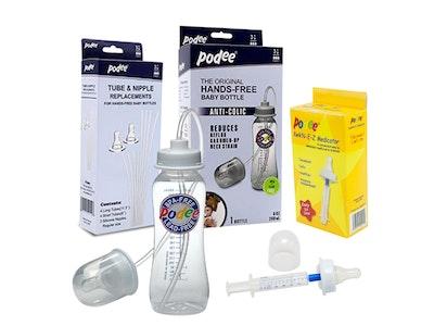 Podee® Hands Free Baby Bottle Starter Pack (Single)