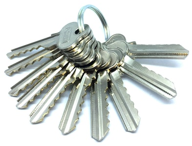 Lockwood Additional standard key cut (Each) when ordering produces that require more keys (NOT Security keys)