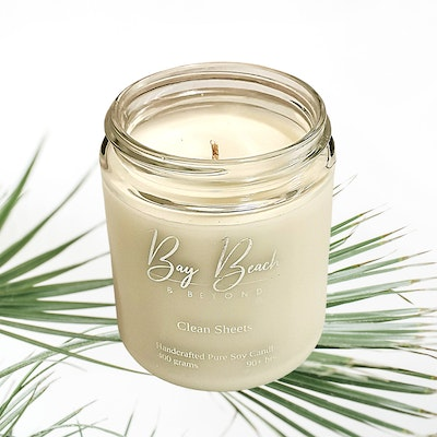 Bay Beach and Beyond Clean Sheets Everyday Candle Small
