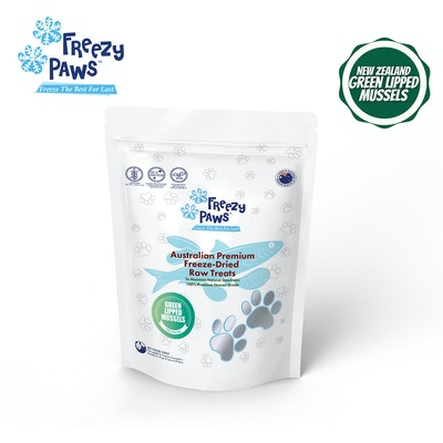 Freezy Paws NZ Green Lipped Mussels Raw Treats 50g