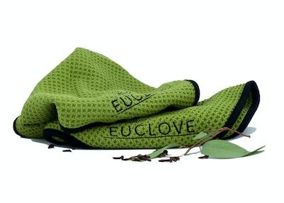 Euclove Twin Pack Premium Woven Microfibre Cloth