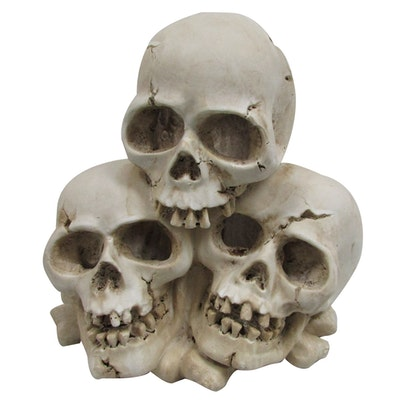 URS Ornament 3 Skull Cave Reptile Accessory 19 x 15 x 18cm