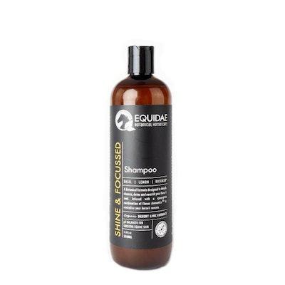 Equidae Horse Shampoo 500ml - Shine & Focused (Citrus)