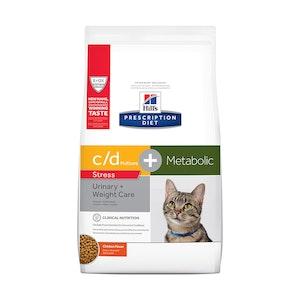 Hills Prescription Diet Cat C/D Metabolic Plus Urinary Stress 2.88kg