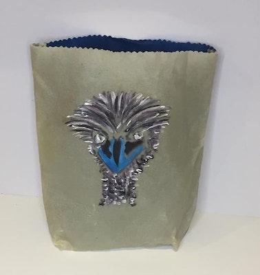Dream Forest Studio EMU beeswax bag