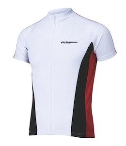 Comfortfit Jersey White/Red XXL BBW-117