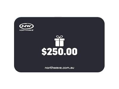 $250 Northwave Australia e-Gift Card