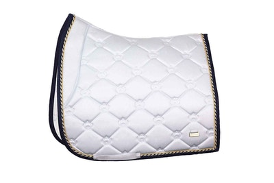 """PSOS Dressage Saddle Pad Lap Of Honor -""""We rise by lifting others"""""""