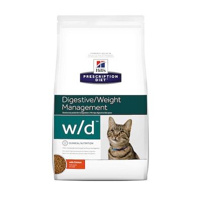 Hill's VET Hill's Prescription Diet W/D Digestive/Weight Management Dry Cat Food 1.5kg