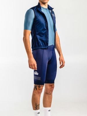dib Men's Proto Wind Vest - Navy Blue