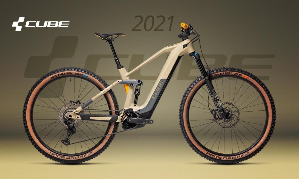 Cube fietsen 2021: dit zijn de nieuws