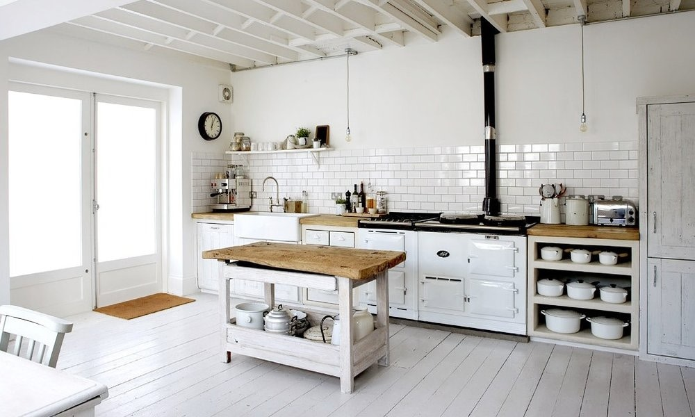 Industrial Meets Rustic Kitchen Design Ideas